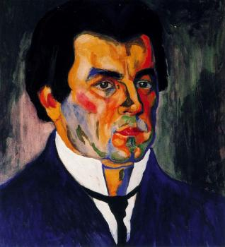Kazimir Malevich : Self Portrait