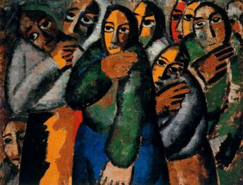 Kazimir Malevich : Peasant Women In Church