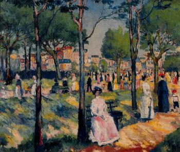 Kazimir Malevich : On the Boulevard