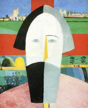 Kazimir Malevich : Head of Peasant
