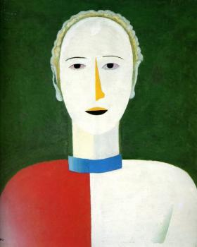Kazimir Malevich : Portrait of a Woman