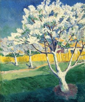 Kazimir Malevich : Apple Tree in Blossom