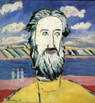 Kazimir Malevich : Head of Peasant II