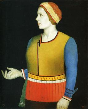 Portrait of Artist s Wife N.A. Malevich