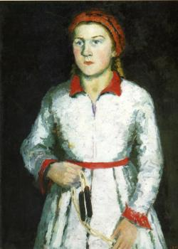 Kazimir Malevich : Portrait of Artist s Daughter