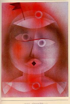 Paul Klee : The Mask with the Little Flag
