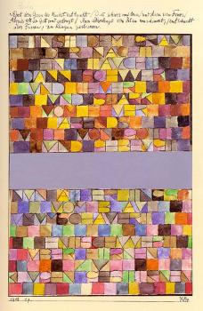 Paul Klee : Once Emerged from the Gray of Night