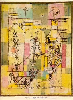 Paul Klee : Tale of Hoffmann