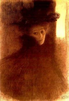Woman with a Cape and a Hat