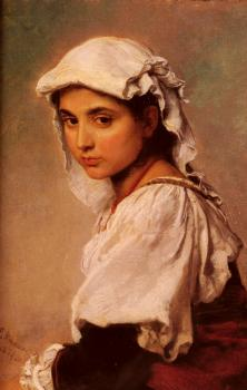 A Portrait Of A Tyrolean Girl