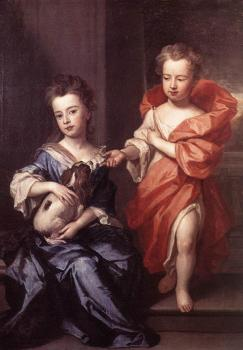 Godfrey Kneller : Edward and Lady Mary Howard
