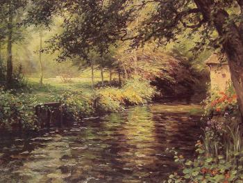 Louis Aston Knight : A Sunny Morning at Beaumont-Le Roger