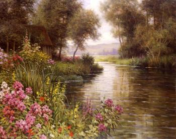 Louis Aston Knight : Flower by the Edge of the River
