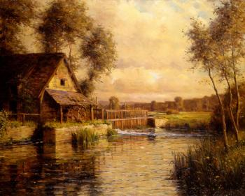 Louis Aston Knight : Old Mill in Normandy
