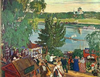Promenade Along the Volga
