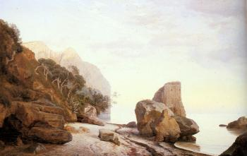 Rocks Along the Shore
