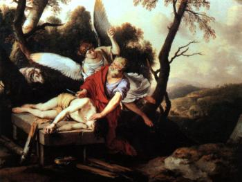 Laurent De La Hire : Abraham Sacrificing Isaac