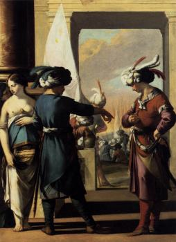 Laurent De La Hire : Cyrus Announcing to Araspas that Panthea Has Obtained His Pardon