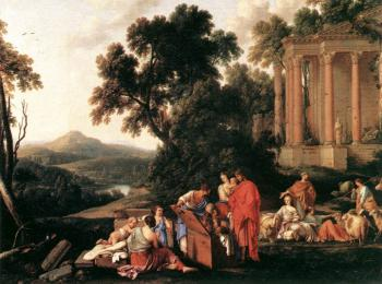 Laurent De La Hire : Laban Searching Jacob's Bagagge for the Stolen Idols
