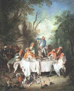 Nicolas Lancret : Luncheon Party