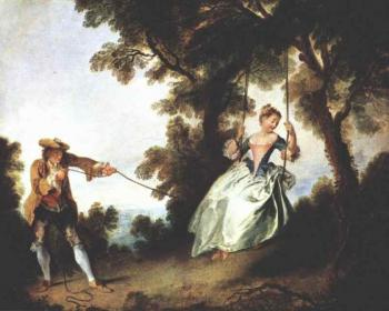 Nicolas Lancret : The Swing
