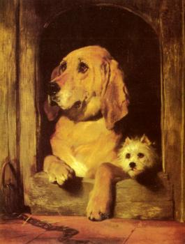 Sir Edwin Henry Landseer : Dignity and Impudence