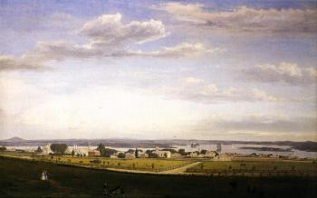 Fitz Hugh Lane : Castine from Fort George