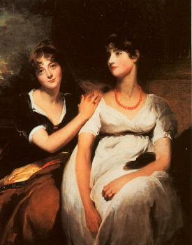 Sir Thomas Lawrence : The Daughters of Colonel Thomas Carteret Hardy