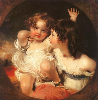 Sir Thomas Lawrence : The Calmady Children