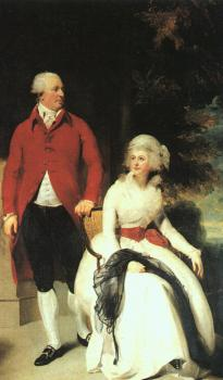 Sir Thomas Lawrence : Portrait of Mr and Mrs Julius Angerstein