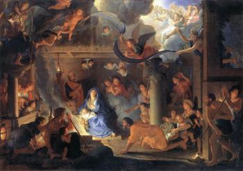 Charles Le Brun : Adoration of the Shepherds
