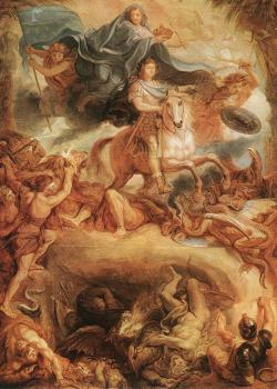 Charles Le Brun : Apotheose of Louis XIV