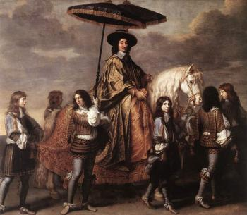 Charles Le Brun : Chancellor Seguier at the Entry of Louis XIV into Paris