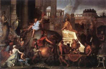 Charles Le Brun : Entry of Alexander into Babylon