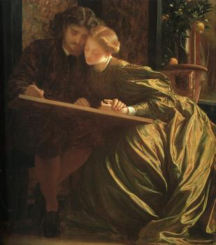 Lord Frederick Leighton : The Painter's Honeymoon