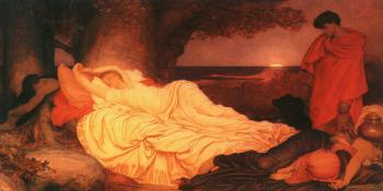 Lord Frederick Leighton : Cymon and Iphigenia