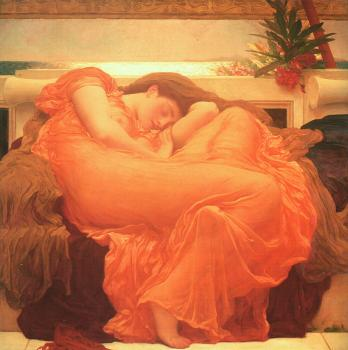 Lord Frederick Leighton : Flaming June