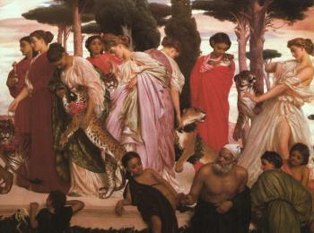 Lord Frederick Leighton : The Syracusan Bride