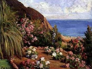 Lord Frederick Leighton : Seaside Flowers