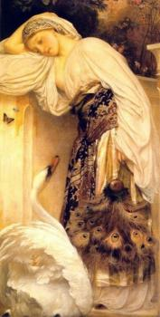 Lord Frederick Leighton : Odalisque