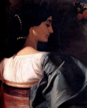 Lord Frederick Leighton : An Italian Lady