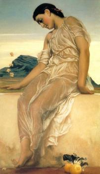 Lord Frederick Leighton : Girl