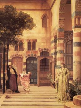 Lord Frederick Leighton : Old Damascus, Jew's Quarter