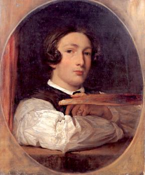 Lord Frederick Leighton : Self-Portrait as a Boy