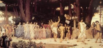 Lord Frederick Leighton : The Daphnephoria