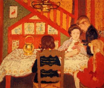 Georges Lemmen : Family Gathering in Saint-Idesbald