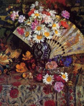 Georges Lemmen : Still Life with Fan