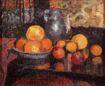 Georges Lemmen : Still Life with Fruit