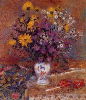 Georges Lemmen : Vase of Flowers