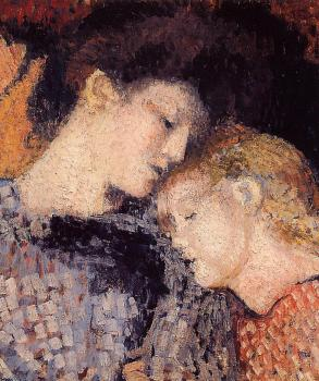 Georges Lemmen : Woman and Child